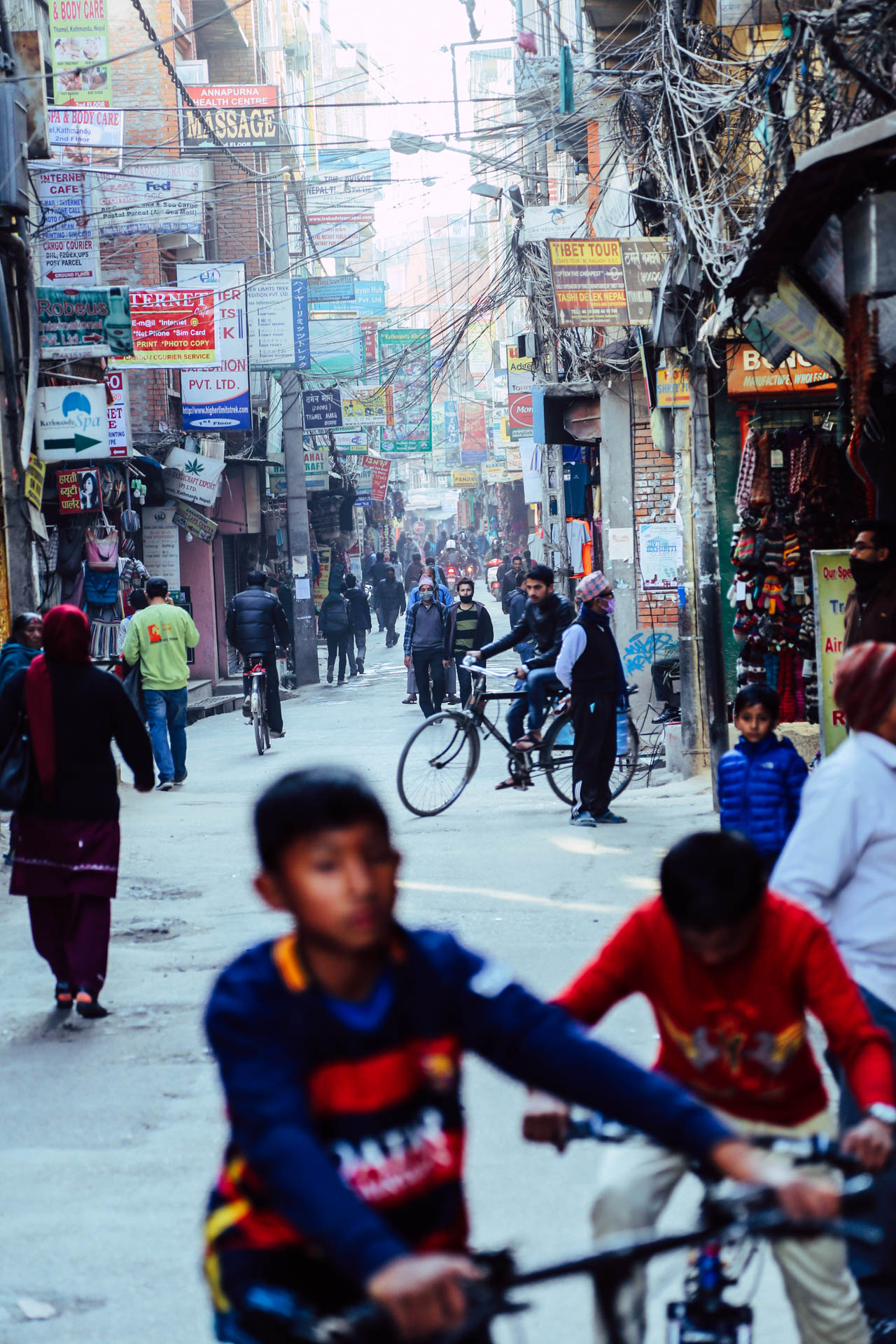 streets of kathmandu 02