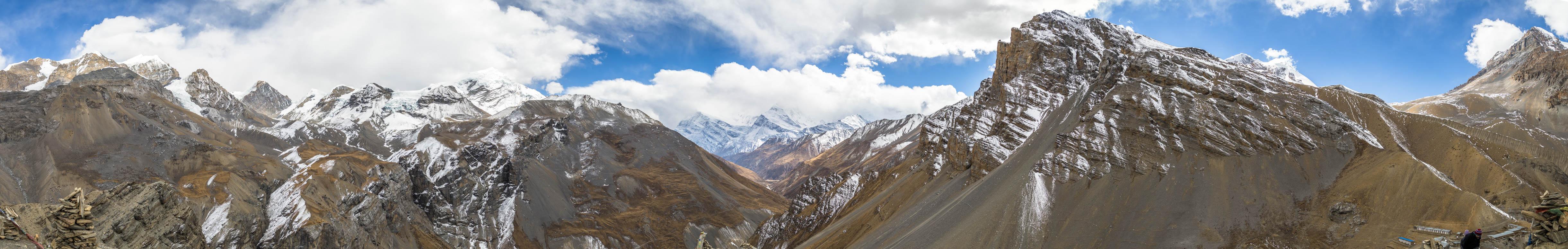 Annapurna Berge