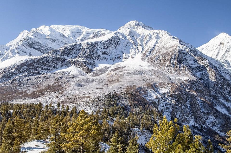 Die Annapurna von Nepal
