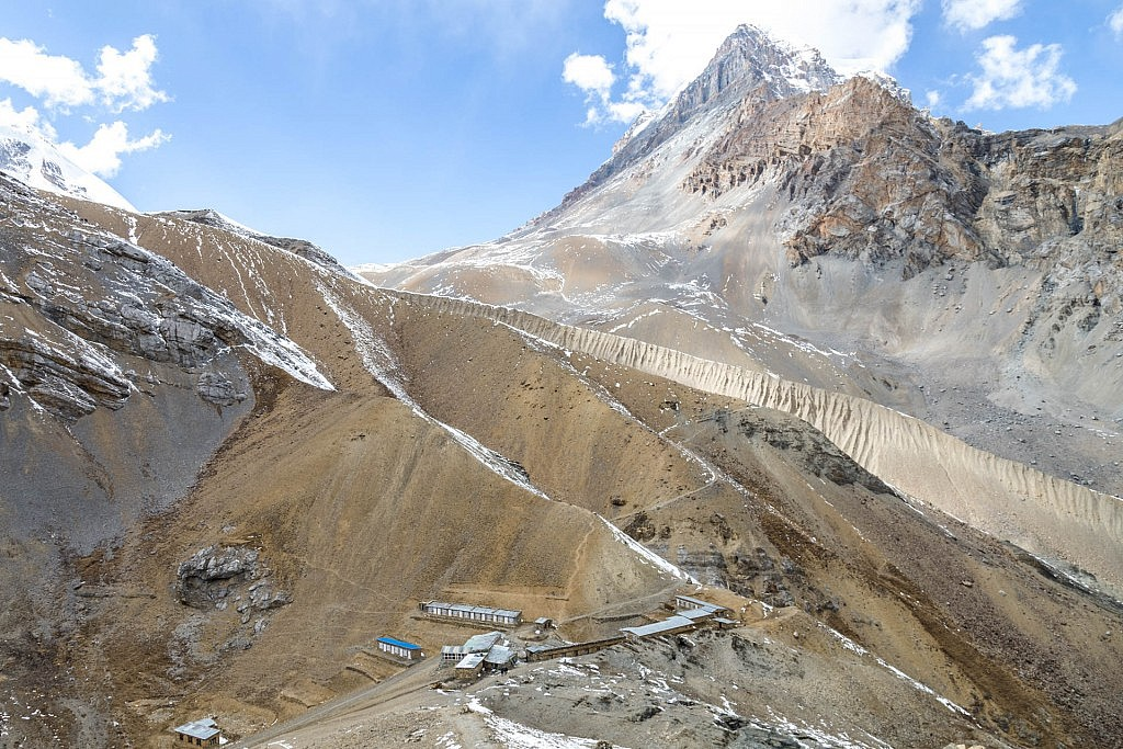 High Thorung Camp auf 4950m