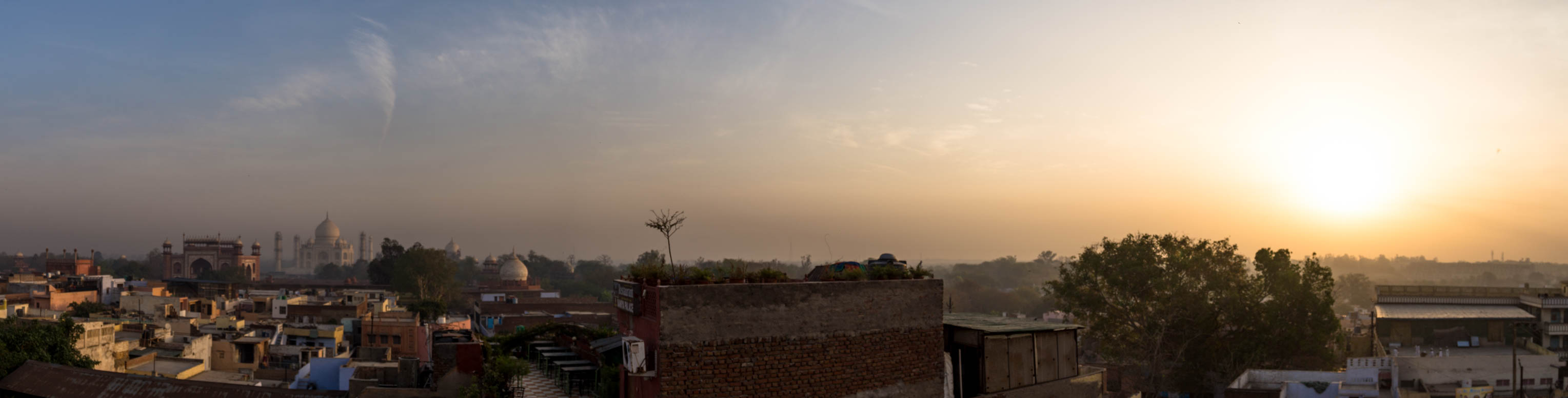 Sunrise in Agra
