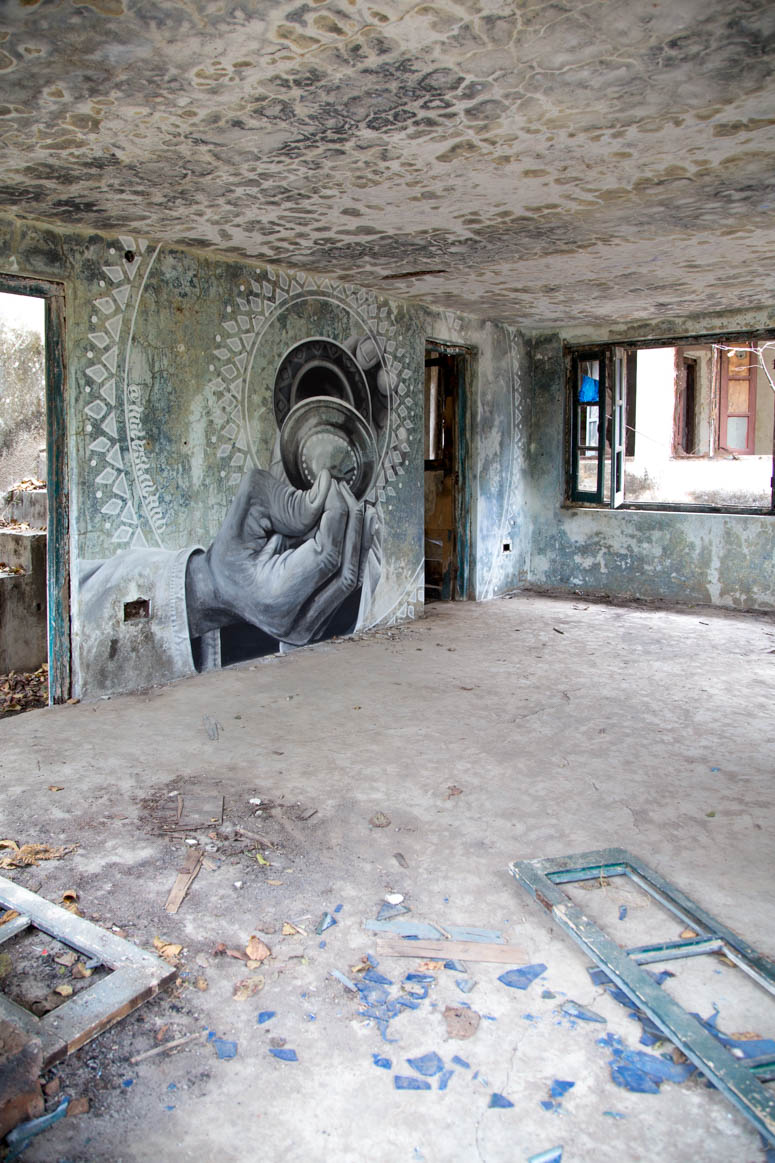 lost place graffiti