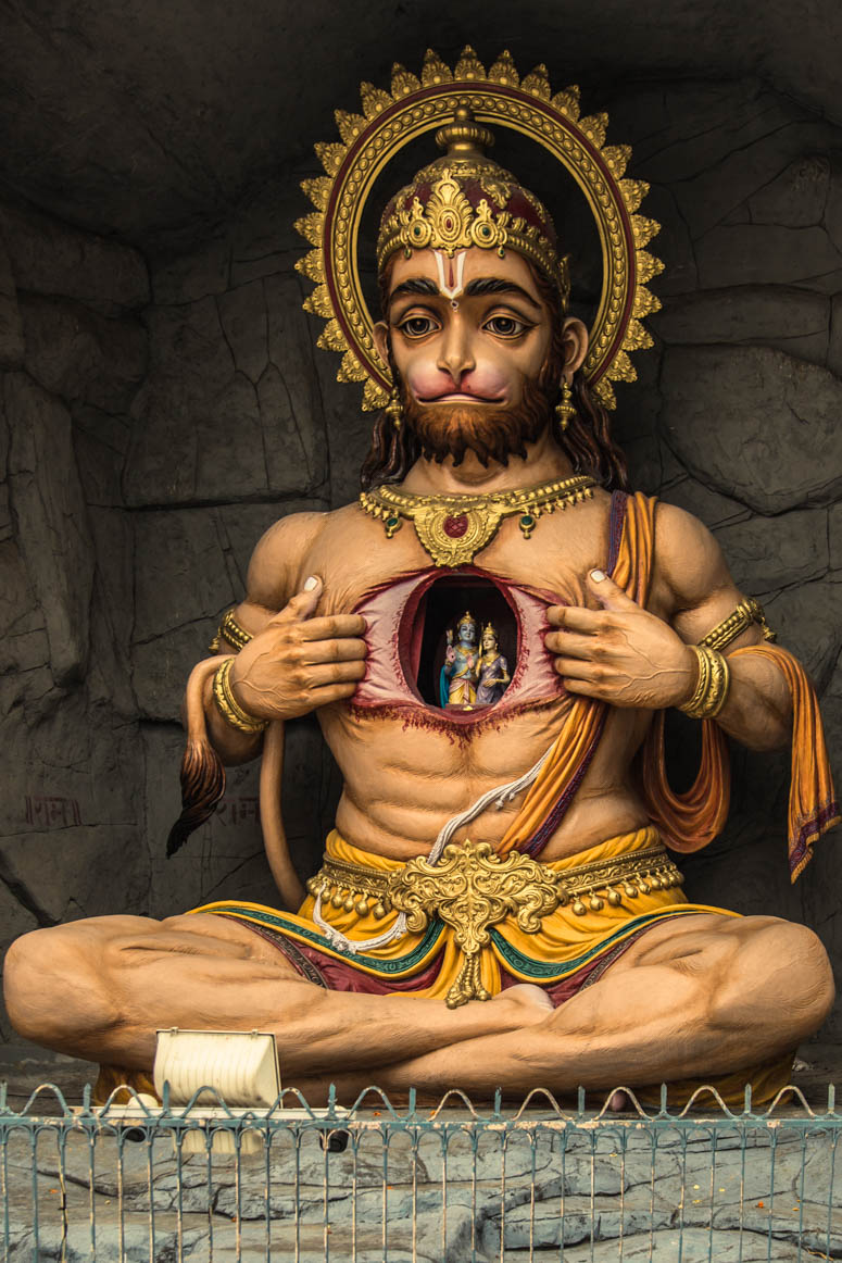monkey god hanuman
