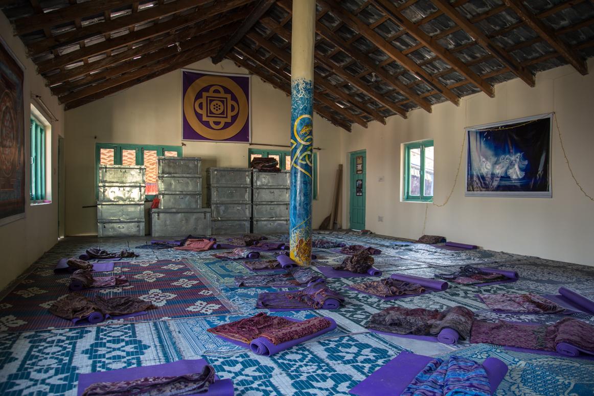 Yogahalle in Dharamkot