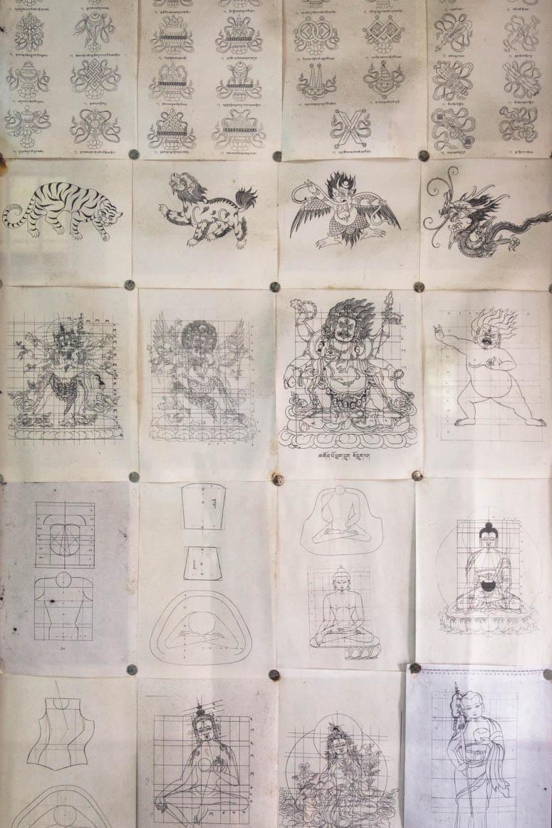 tibetan sketches