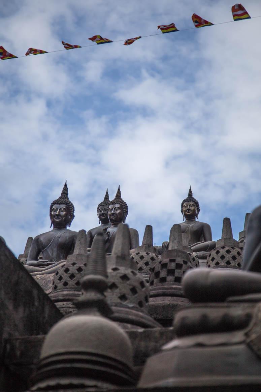 Buddha landscape