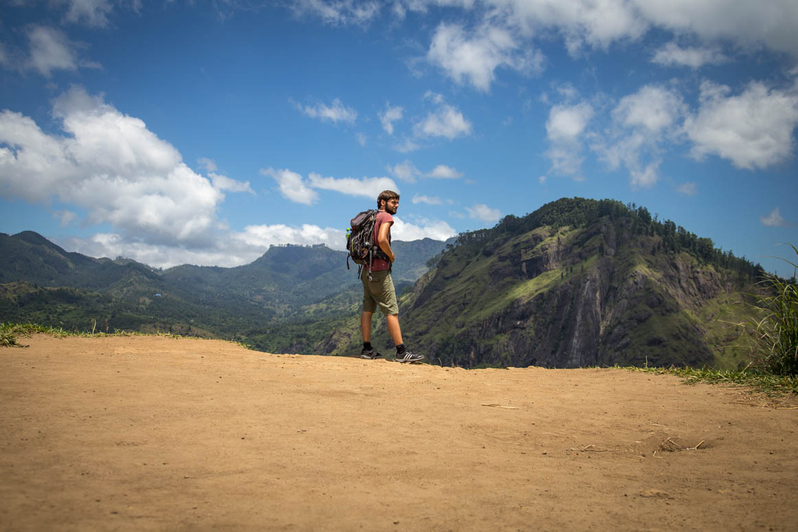 am Weg zum Little Adams Peak