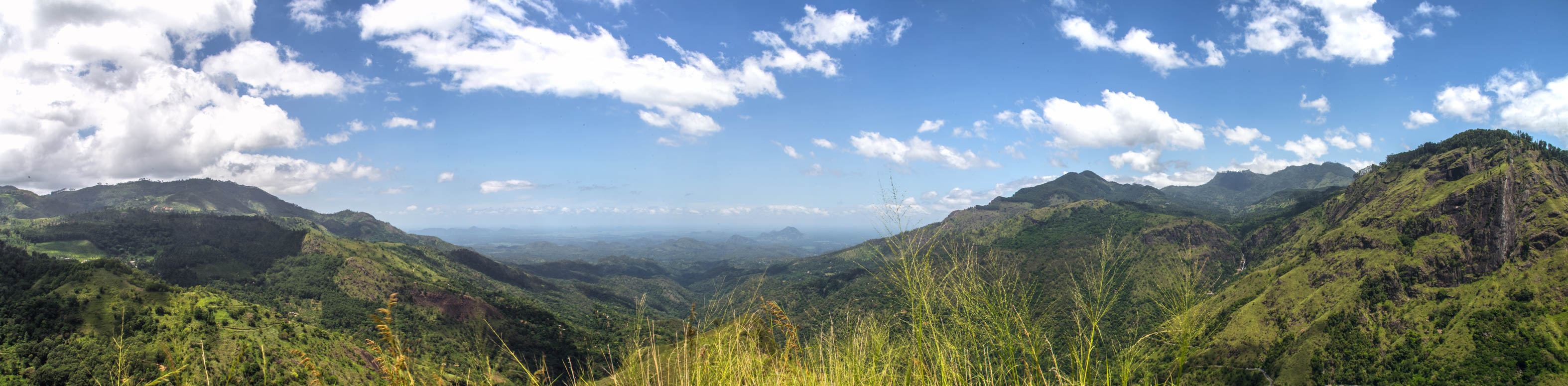 Das Panorama am Little Adam's Peak