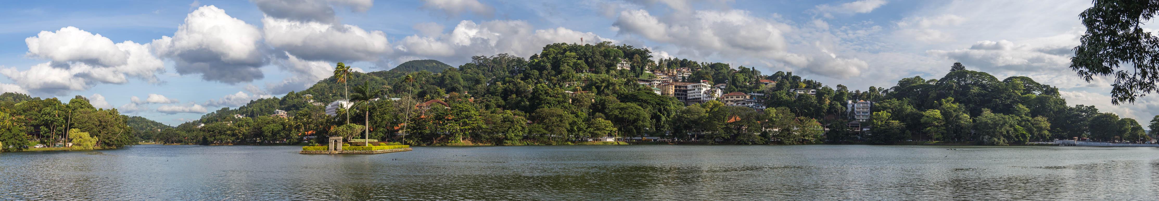 Blick auf den Kandy See