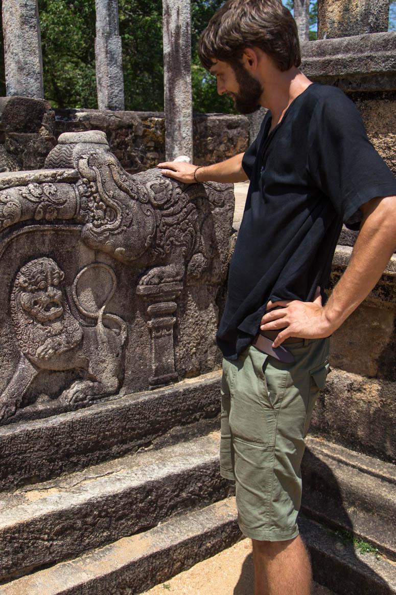 Drache und Löwe im Buddhismus