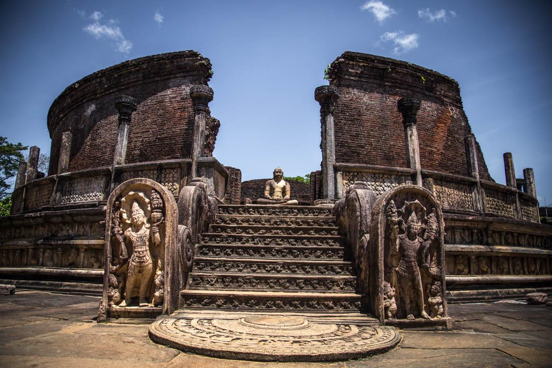 Tempel das Zahns in Polonnaruwa