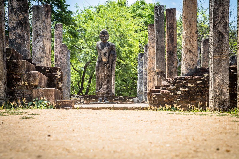 Ruine des lehrenden Buddhas