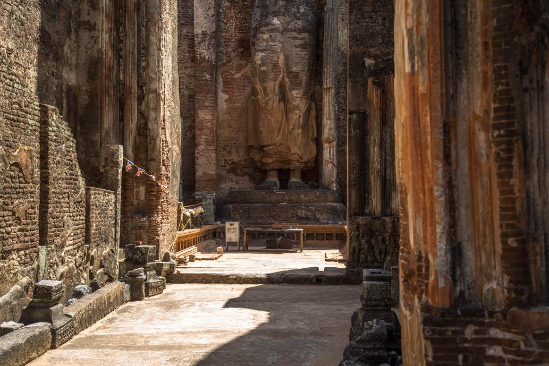 buddhistischer Tempel in Polonnaruwa