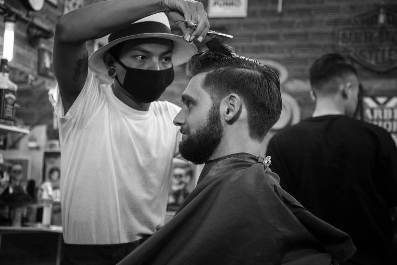 Beim Barbier