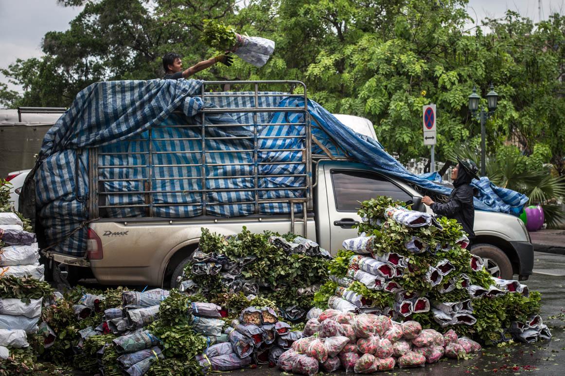Flowermarket Pak Khlong Talad