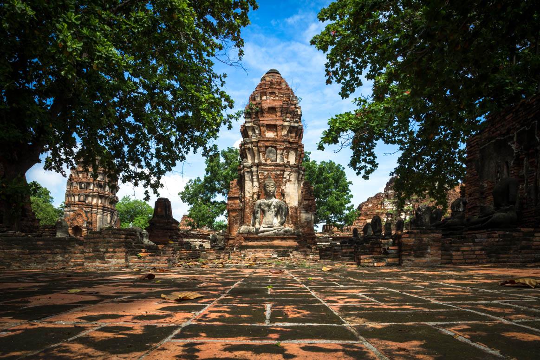 Ruine von Ayutthaya