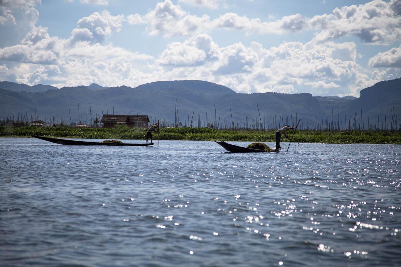 Kanufahrt am Inle Lake