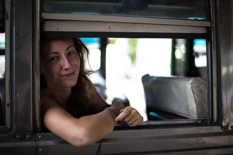 Der Bus nach der Grenze