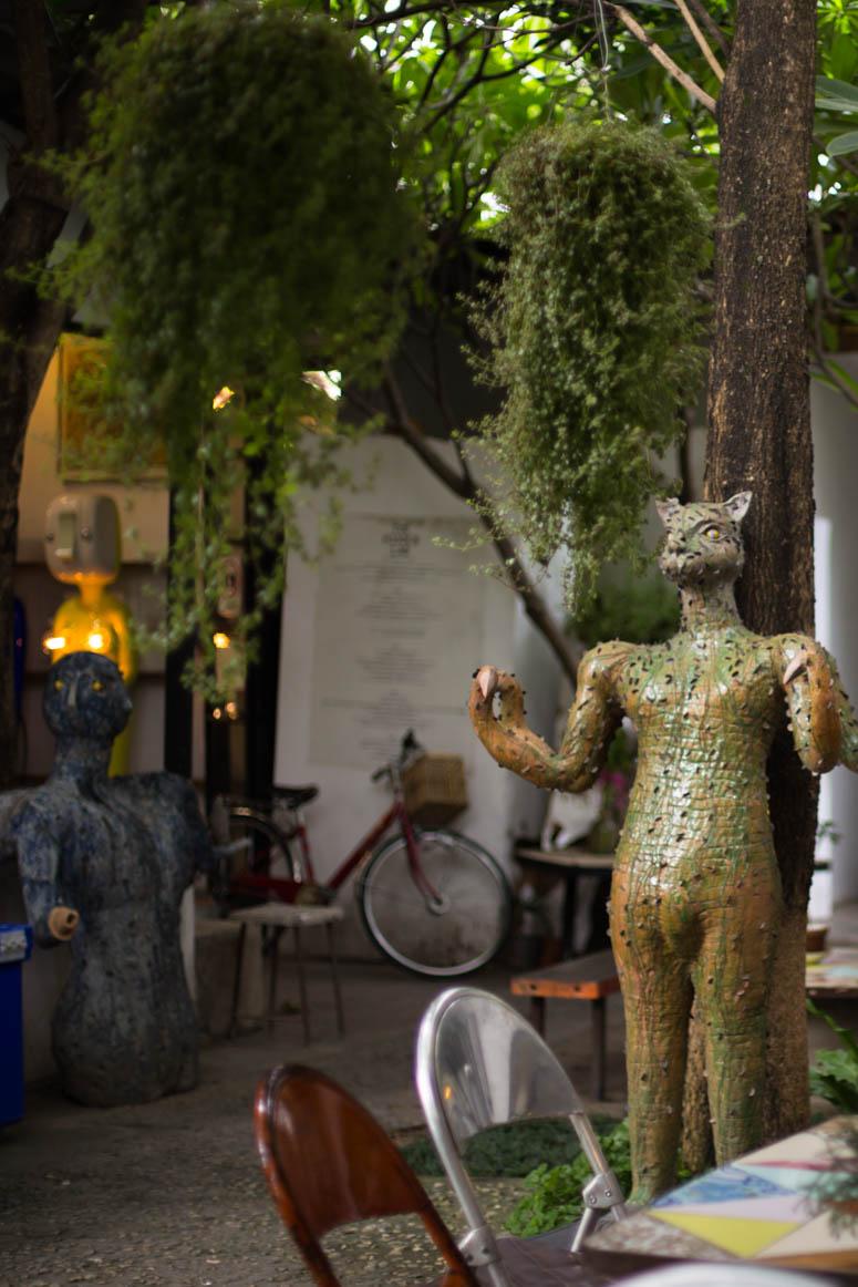 Kunstatelier in Chiang Mai