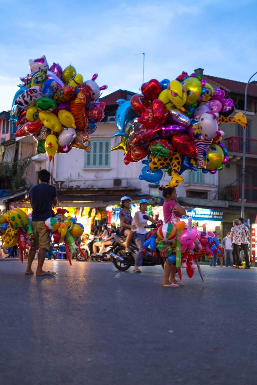 Ballon Verkäufer