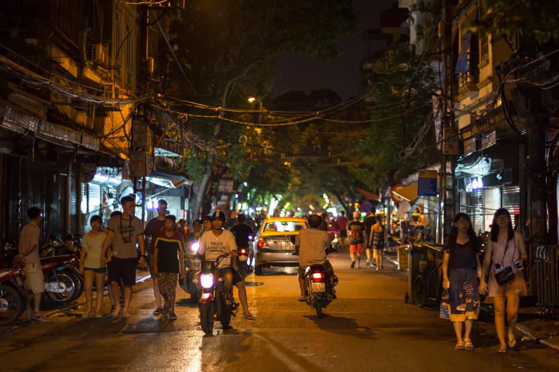 Hanois Nachtleben
