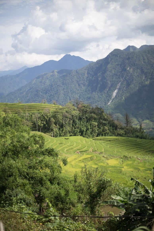 Die Berge von Sapa