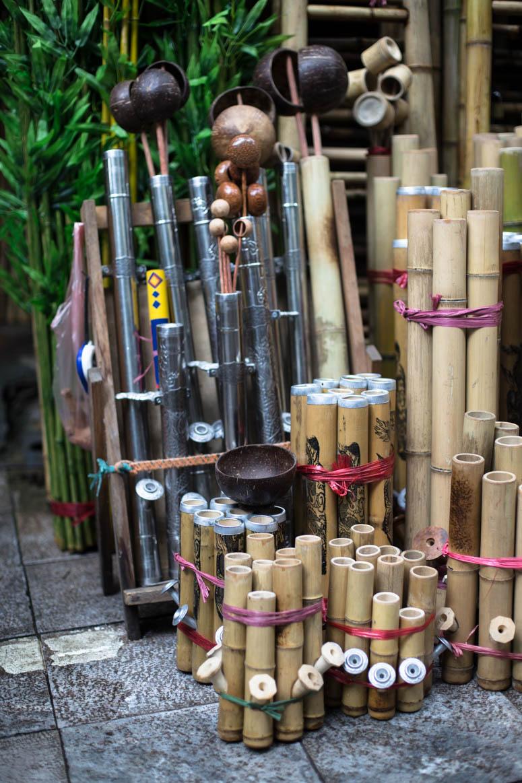 Bambuspfeifen
