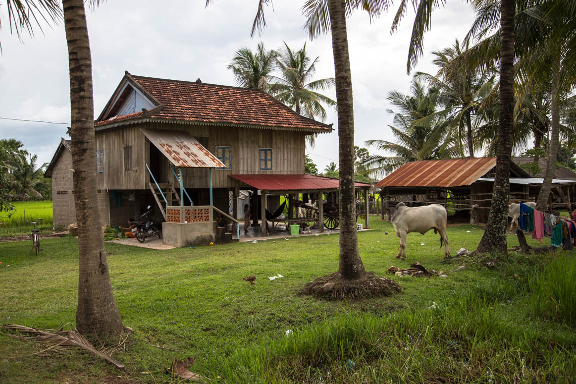 Farmhaus in Kampot