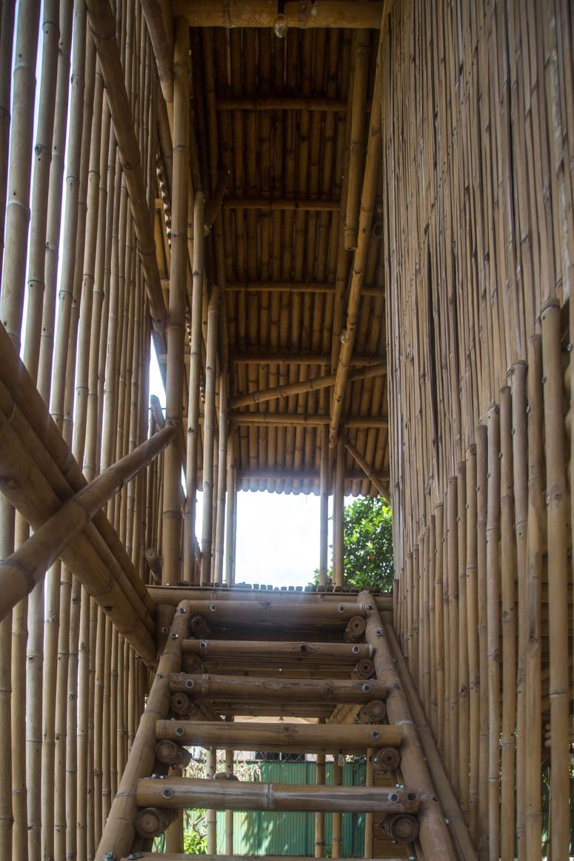 Bambusstiege