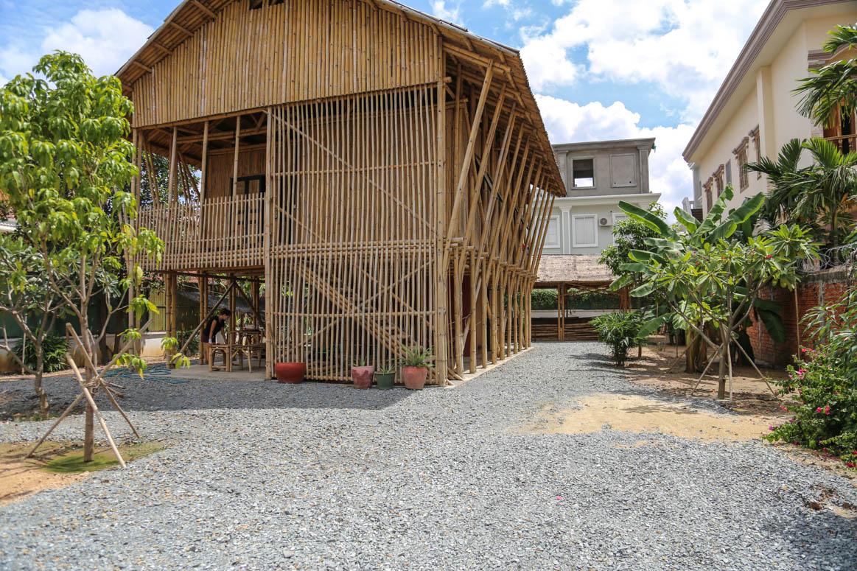 Im Bambuscenter hatten wir den meisten Spaß an der Arbeit