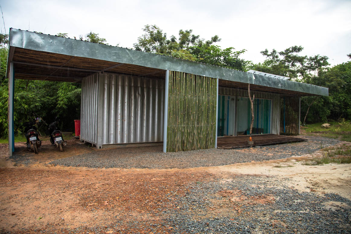 main building at the turtle sanctuary