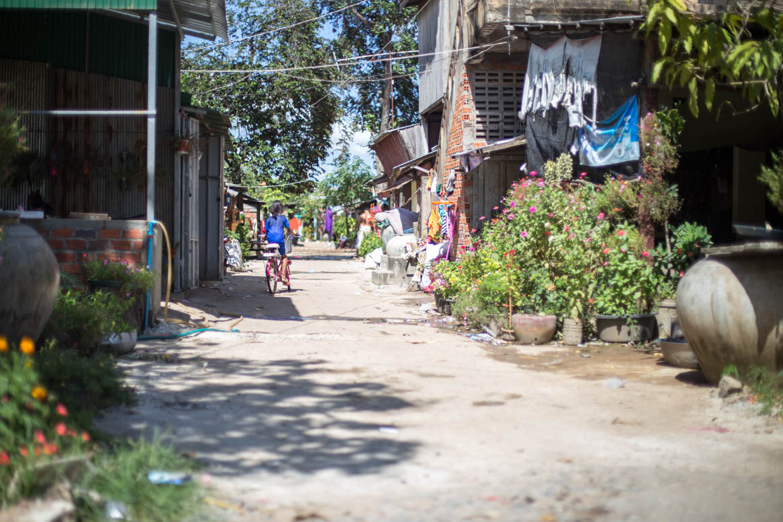 Battambangs Seitengassen