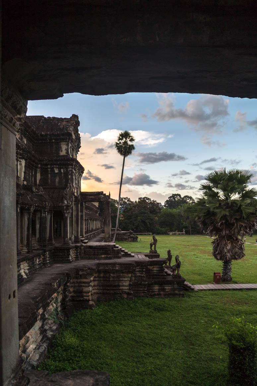 Im Inneren von Angkor Wat