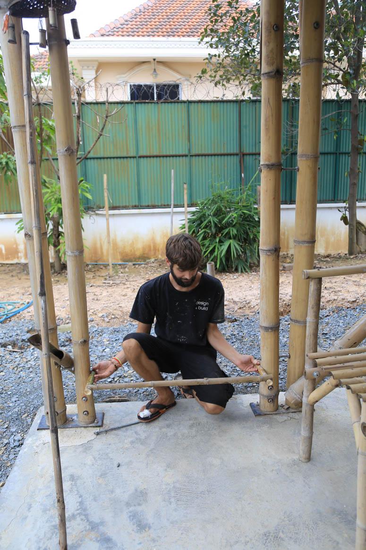 Exhibition construction detail