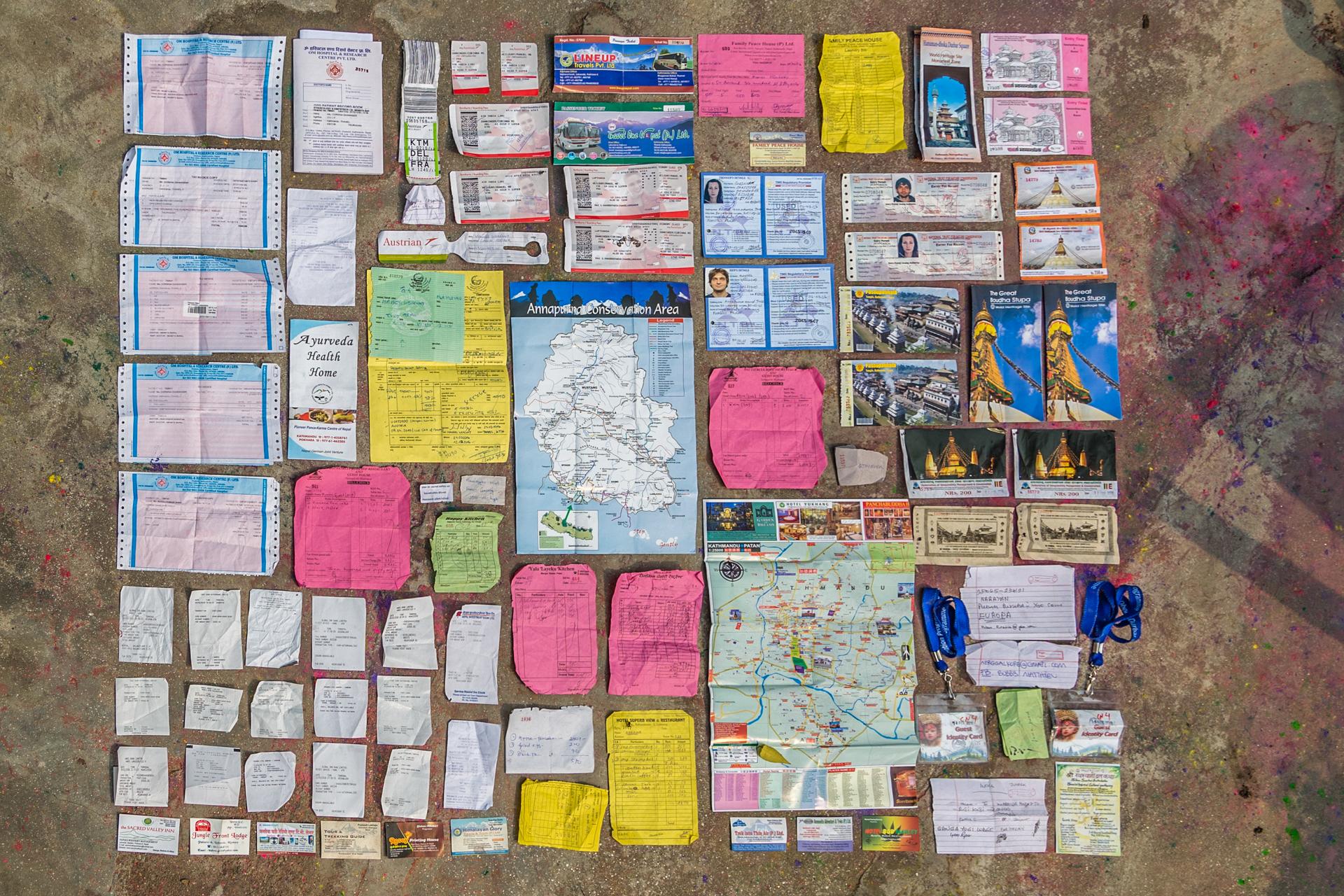 Datenspur in Nepal