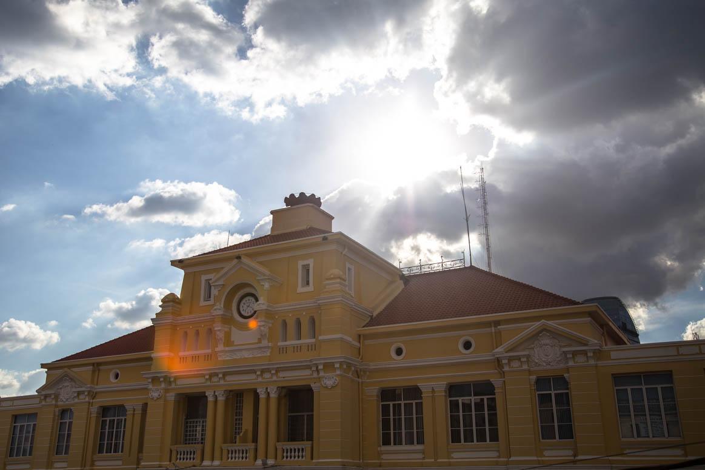 altes Postgebäude