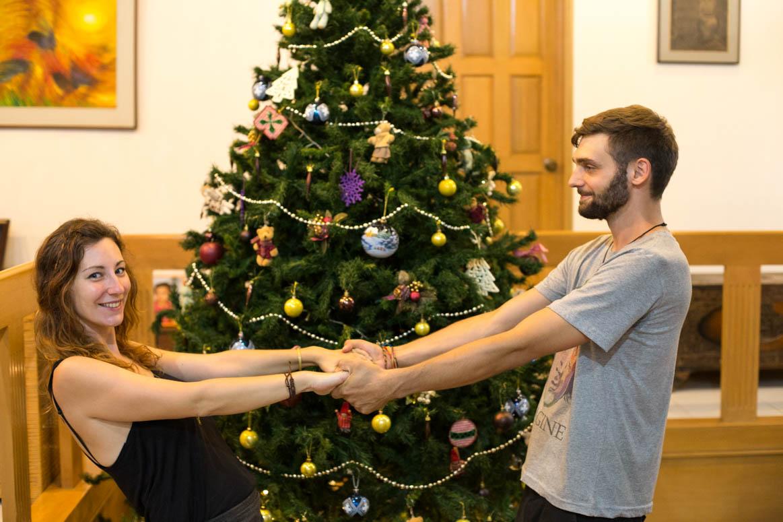 Weihnachten gemeinsam in einer fremden und doch nicht unbekannten Welt.