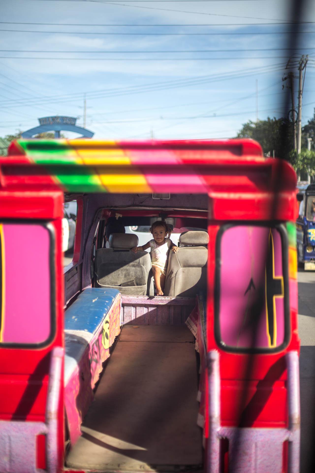 Jeepney Fahrt