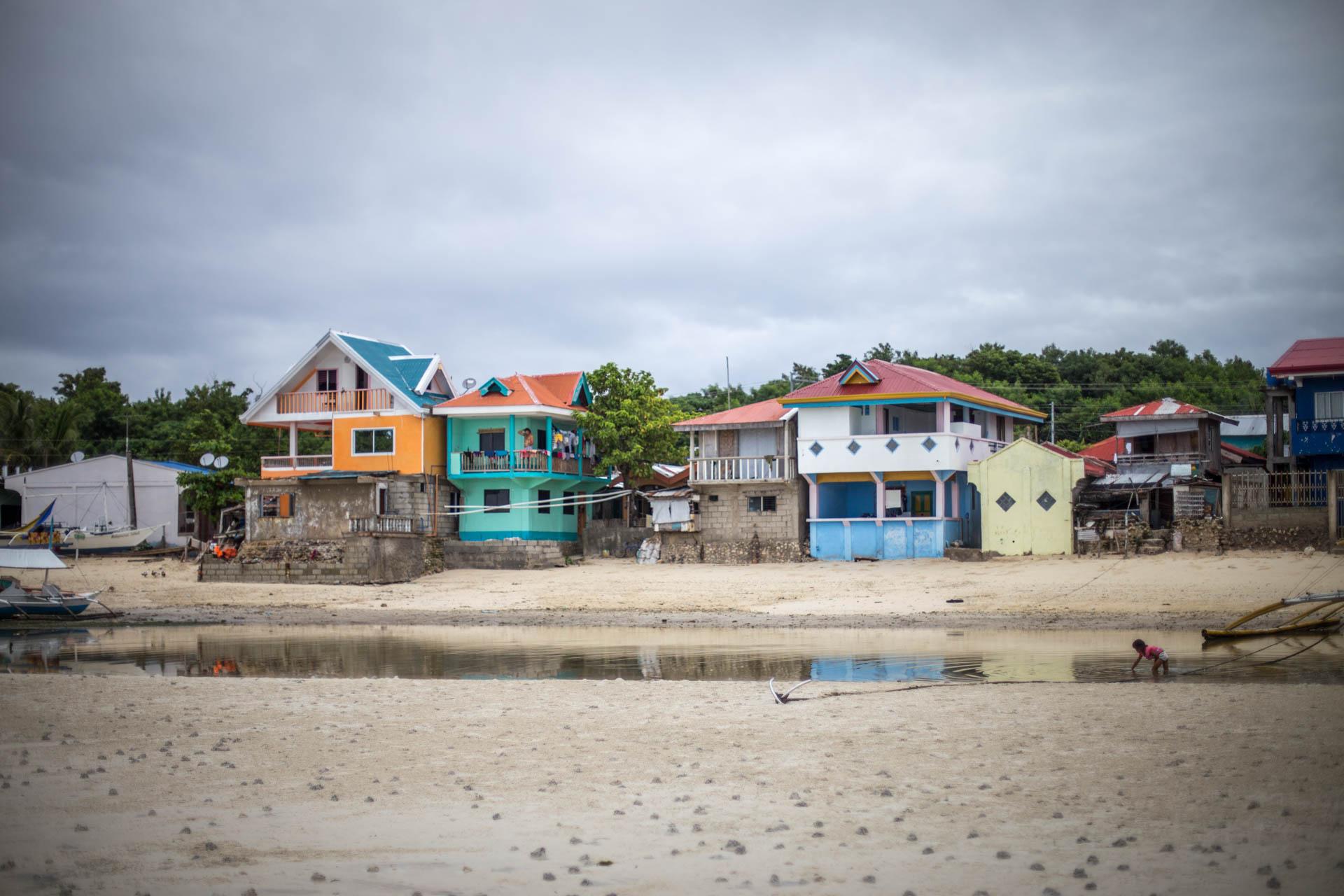 Hafendorf auf Malapascua