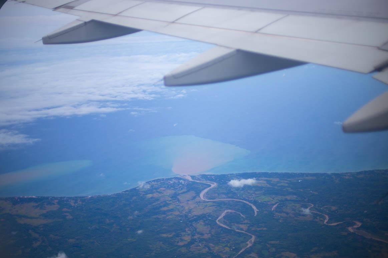 Flug nach Palawan