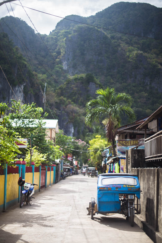 El Nidos Streets
