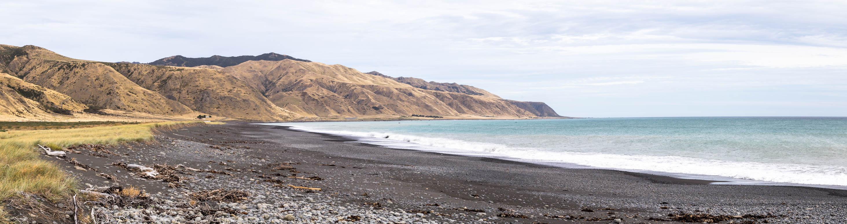 Cape Palliser Vulkan Strand