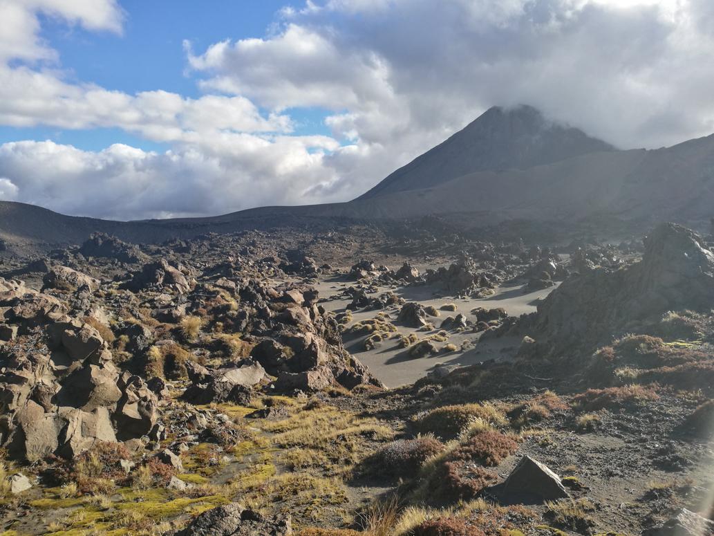 Tongariro Wanderung