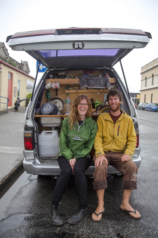 Amy und Finn aus Schottland