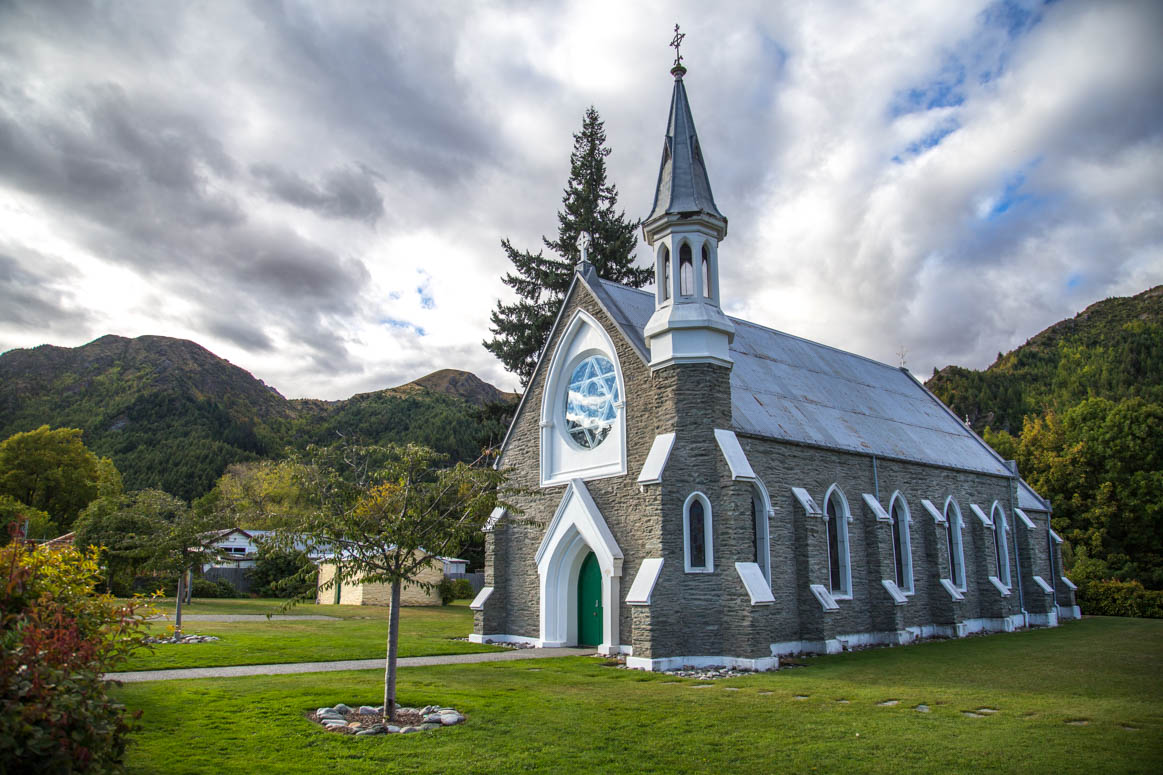 Arrowtown Kirche