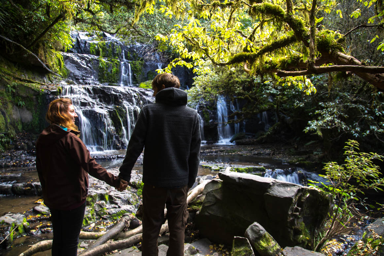 Purakaunui Falls Besuch
