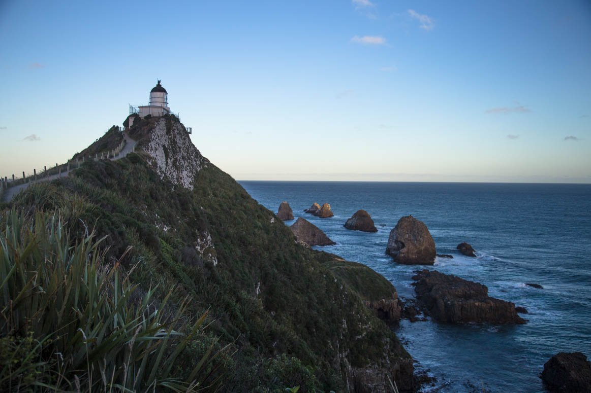 Nugget Point Leuchtturm