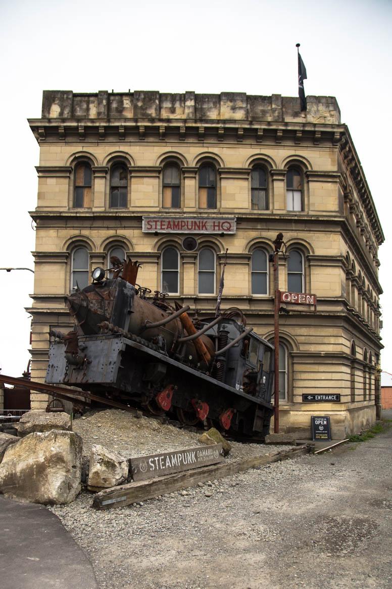Oamaru Steampunk Museum