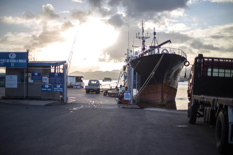 Hafen Suva